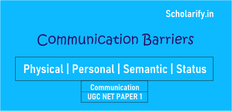 Communication Barriers UGC NET