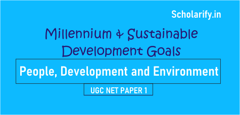 Millennium and Sustainable Development Goals