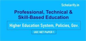 Professional, Technical and Skill Based Education UGC NET