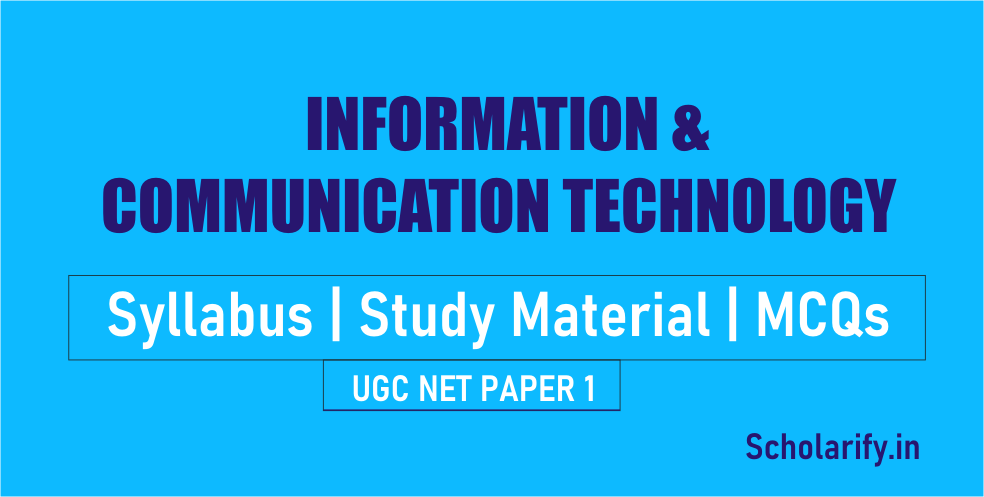 Information and Communication Technology ICT